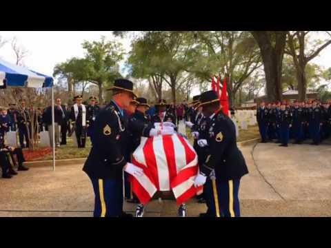 Graveside Service Ft  Benning, GA Lt. Gen. Hal Moore