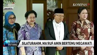 Download Video Silaturahim, Ma'ruf Amin Bertemu Megawati MP3 3GP MP4