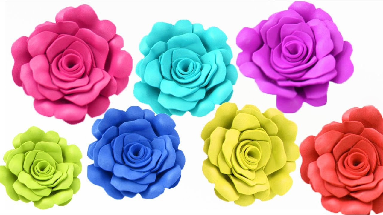 How To Make Realistic Foam Roses With Foam Paper Foam Craft Ep 366 Simplekidscrafts