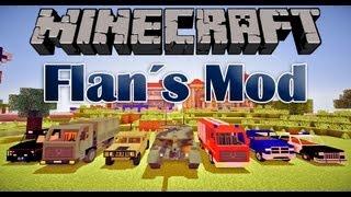 Autos, Waffen, Flugzeuge und Panzer - Der Flan´s Mod - Minecraft[HD]