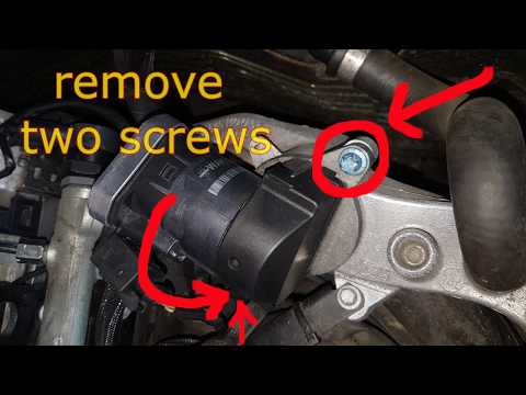 How to clean EGR valve W211 MB 220 cdi