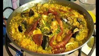 La Paella Del Famoso Restaurante Cafe De Chinitas En Madrid, Receta Y Elaboracion