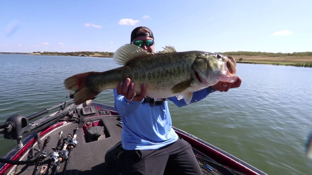 Big bass fishing new personal best youtube for Bass fishing videos