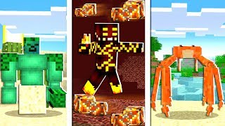 NEW Minecraft Biome Updates! (Minecraft Addon Mod)