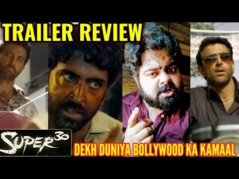 Super 30 Official Trailer | REVIEW | REACTION | HINDI | HRITHIK ROSHAN  | OUTSTANDING