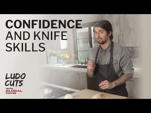 Ludo Cuts with GLOBAL Knives: Confidence & Knife Skills - Episode 2