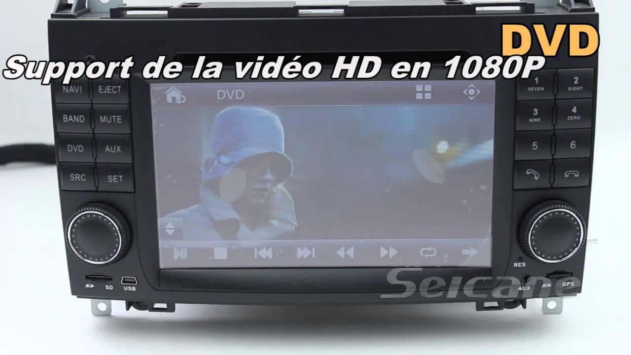 mercedes benz a class w169 autoradio 2004 2012 mercedes w169 lecteur dvd gps avec bluetooth tv