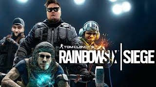 SNAX, PAGO i BONKOL w RAINBOW SIX SIEGE!  Uczymy się grać xD