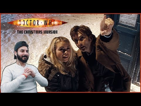 """Doctor Who REACTION! """"The Christmas Invasion"""""""