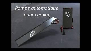 Rampe automatique pour camion avec Topsolid 7