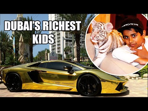 Mind-blowing luxury Life of Dubai's Richest Kids