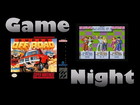 Super Off Road - SNES - Game Night - KWKBOX