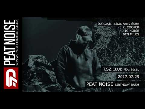 Peat Noise @ B-DAY BASH, T.SZ. Club, Nógrádsáp (Hungary) (29.JULY.2017)