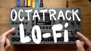 Octatrack // making a LoFi Beat