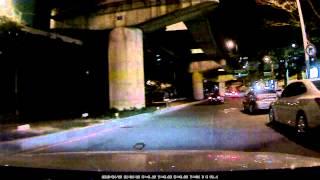 에어포인트  GPASS  AP1000  야간주행영상4