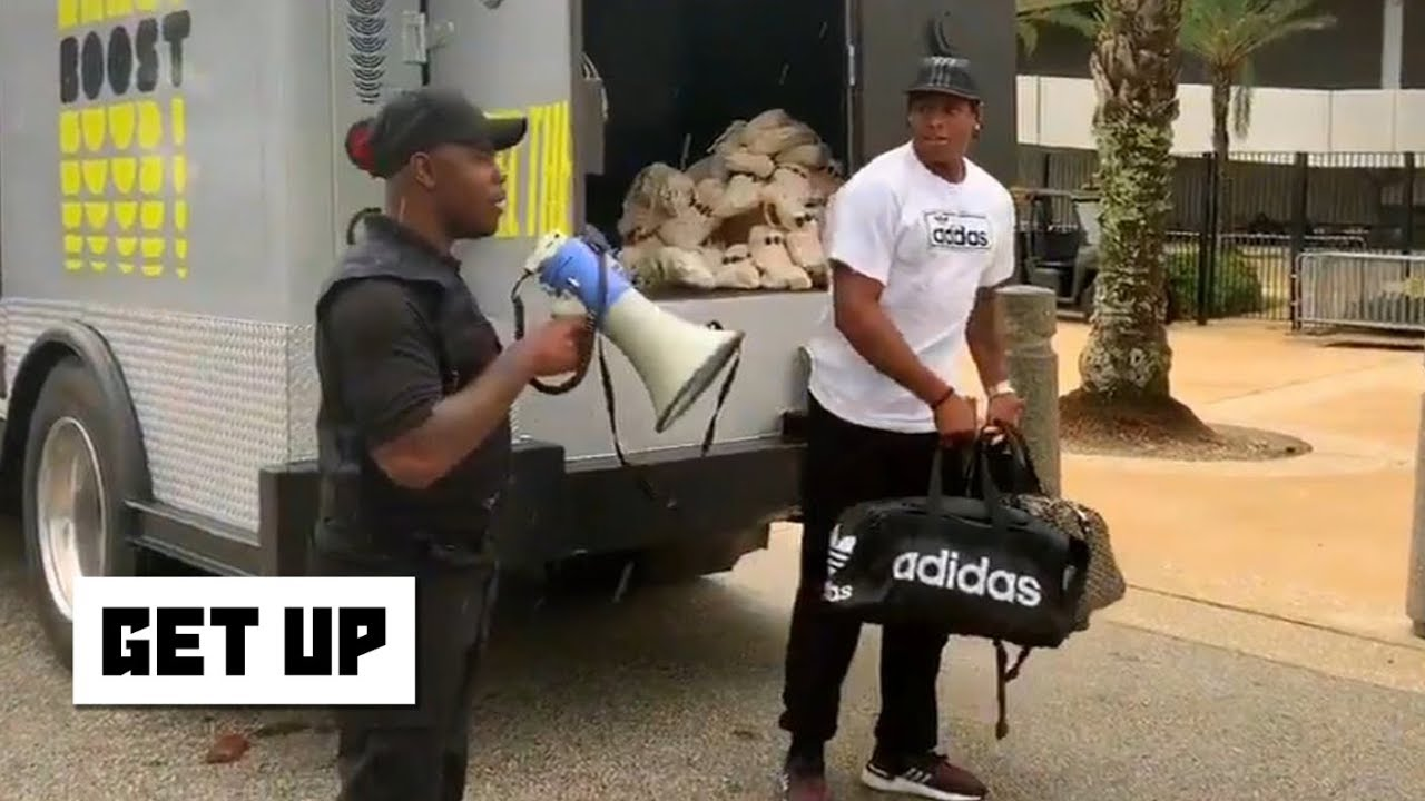Jaguars' Jalen Ramsey Arrives At Training Camp In An Armored Money Truck