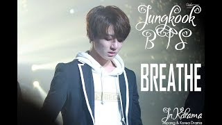 Breathe ( 한숨 ) - Jungkook BTS Cover Lyrics English