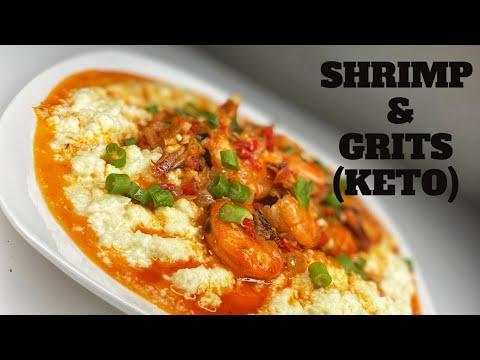 How to make Shrimp & Grits(Keto)