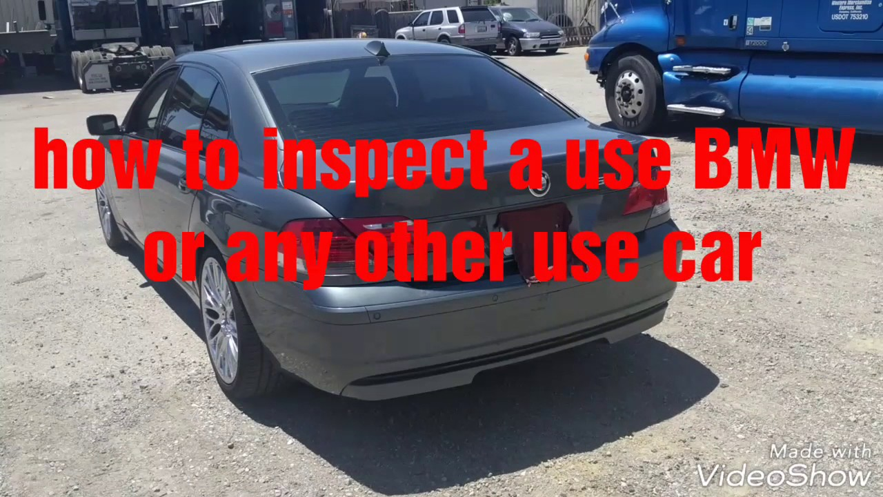 How to Buy a Used BMW Car