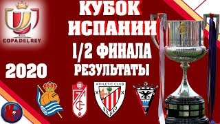 Футбол Кубок Испании 2019 20 Полуфинал Первые Матчи Результаты
