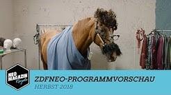ZDFneo-Programmvorschau: Herbst 2018 | NEO MAGAZIN ROYALE mit Jan Böhmermann - ZDFneo
