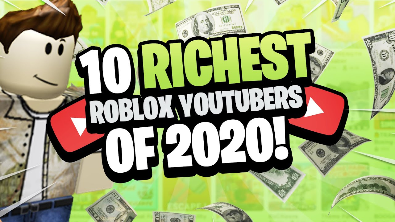 Top 10 Richest Roblox Youtubers Of 2020 Gamingwithkev Itsfunneh