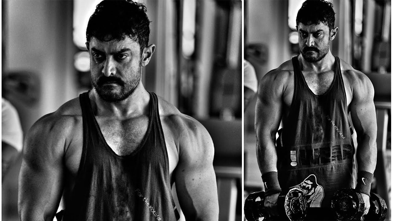 Aamir Khan Body exersise tips( Inspiration for body building )Latest In The Making-GHAJINI