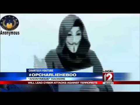 Anonymous declares war over Charlie Hebdo attack