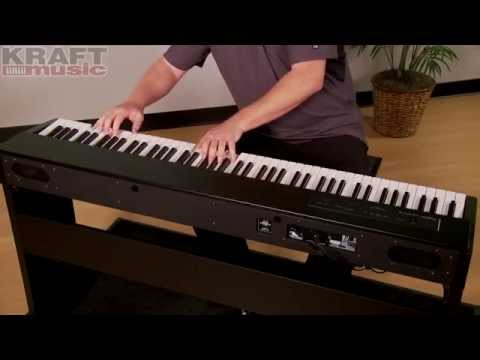 yamaha p45 vs roland f20 digital piano demo doovi. Black Bedroom Furniture Sets. Home Design Ideas