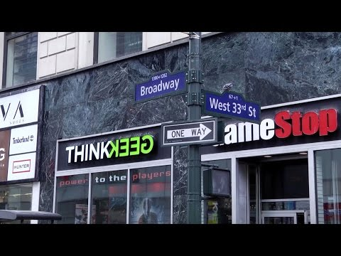 ThinkGeek's awesome new store in NYC