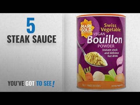 Top 10 Steak Sauce [2018]: Marigold Vegan Bouillon Powder, Less Salt 1 Kg