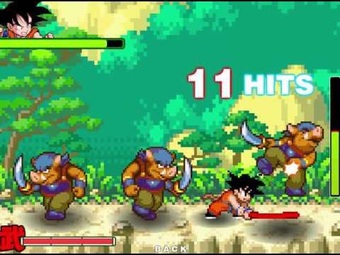 Un juego de Goku Goku dragon ball z  YouTube