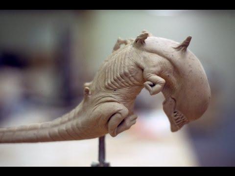 ALIEN 3 Sculpting BTS