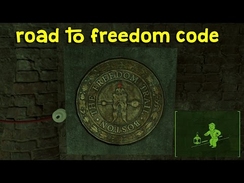 Fallout 4 Freedom Trail Code/Password