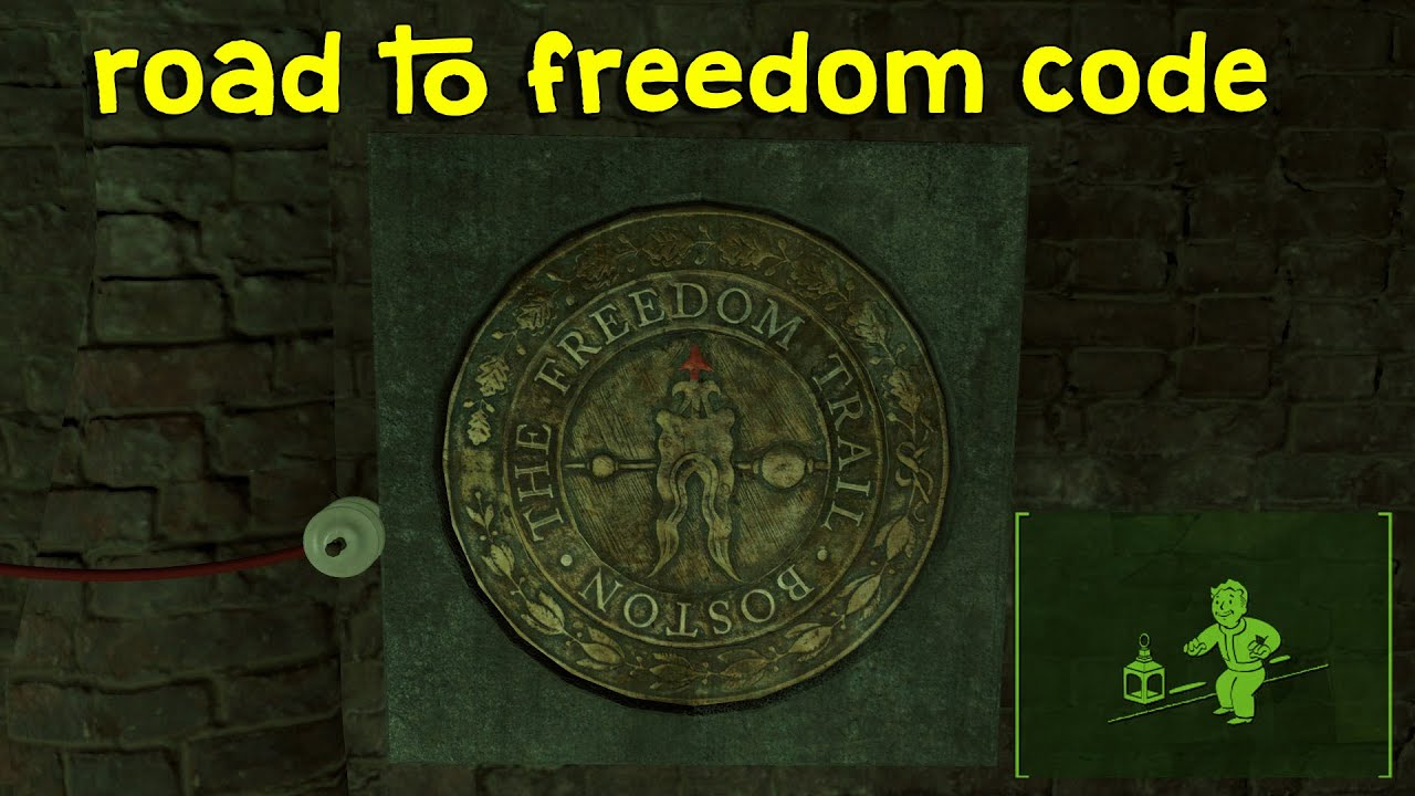 Fallout 4 Freedom Trail Code