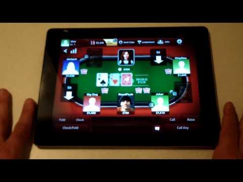 Zynga Poker Ipad/Iphone App Review - Fliptroniks.com