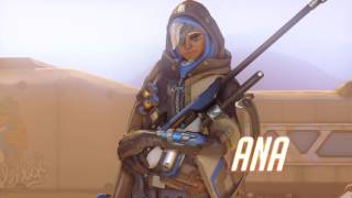 Overwatch New Character | Ana Gameplay Trailer (Not Sombra)