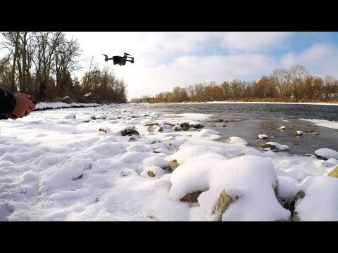 Flying the DJI Spark in Cold Weather