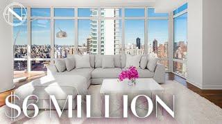 Inside a $6 MILLION Condo In The Sky on Billionaire's Row