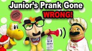 SML Bowser Junior's Prank Gone WRONG!!! BTS