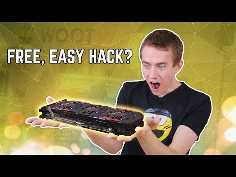 $0 RX 480 UPGRADE! - How To Get More FPS For Free!