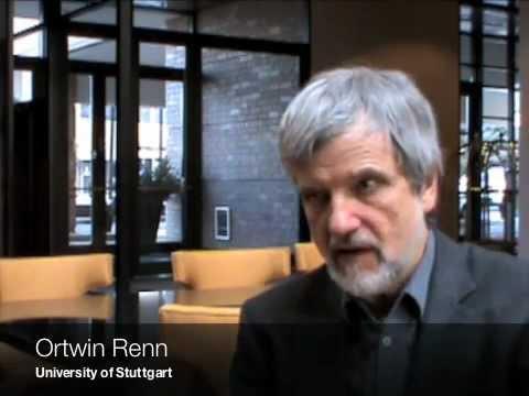Ortwin Renn on risk governance