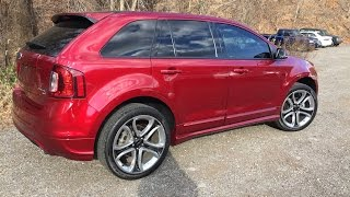 2014 Ford Edge Sport Review And Test Drive