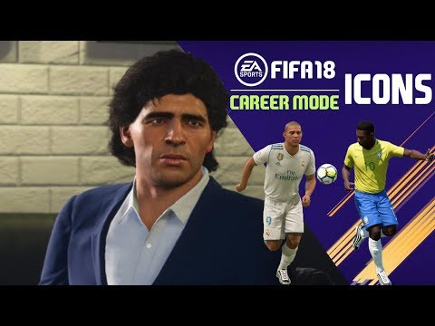 FIFA 18 | Career Mode | LEGENDS | FUT ICONS | DOWNLOAD