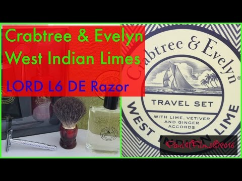 Crabtree & Evelyn -  West Indian Limes (Travel Set )