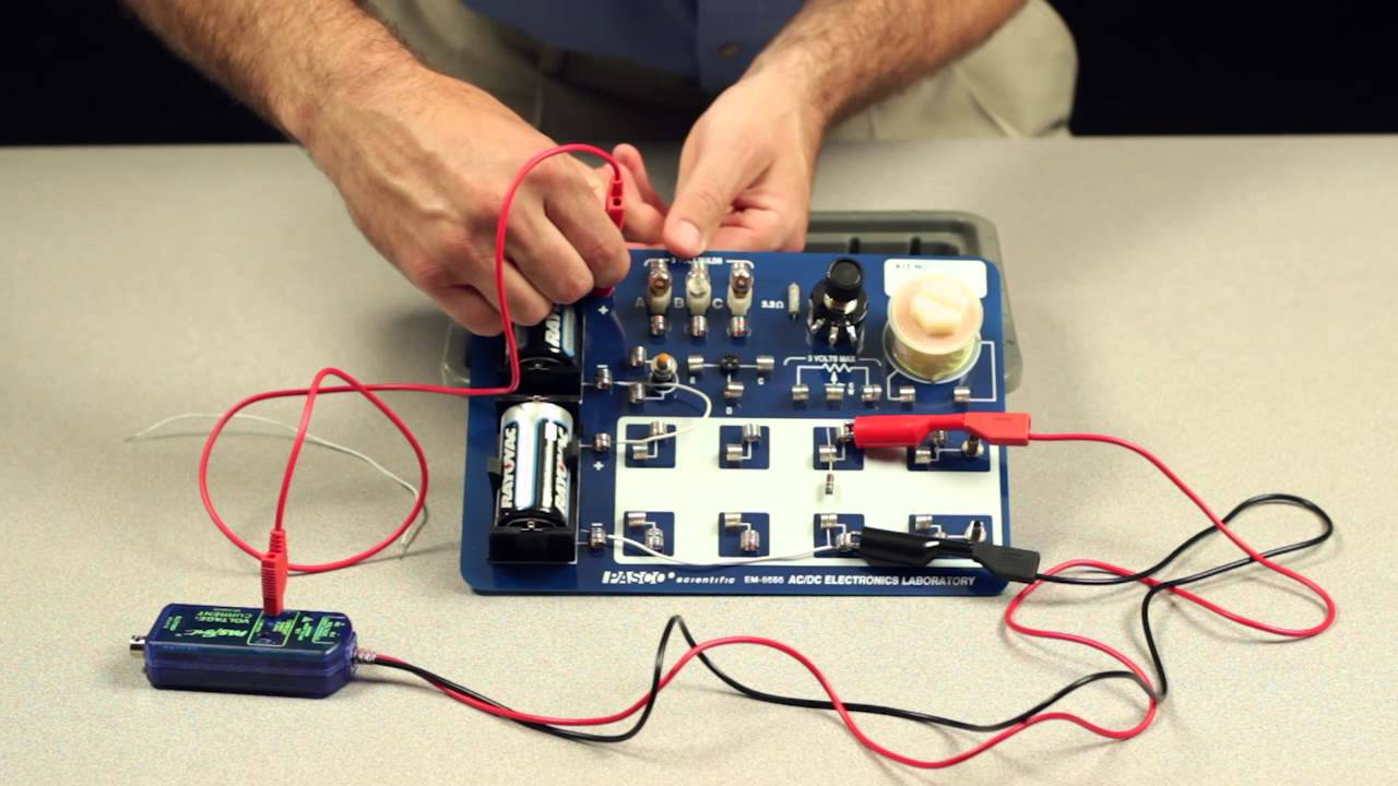 Electronic Circuits And Components Electricity Voltage And Current