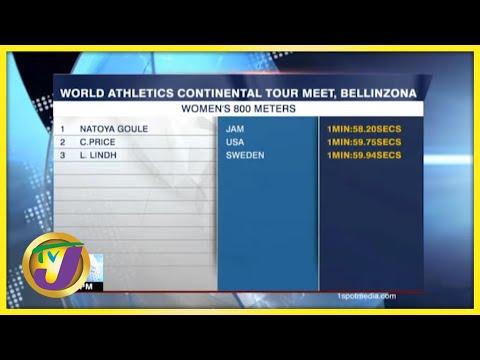 Jamaican Athletes in Switzerland - Sept 14 2021