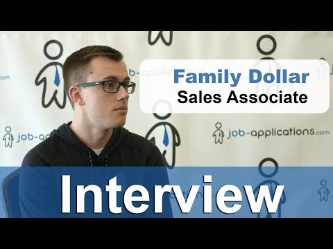 Family Dollar Interview - Sales Associate