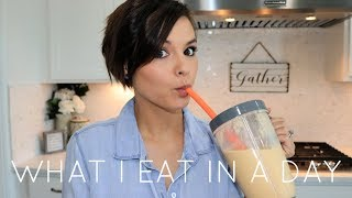 WHAT I EAT IN A DAY | STAY AT HOME MOM