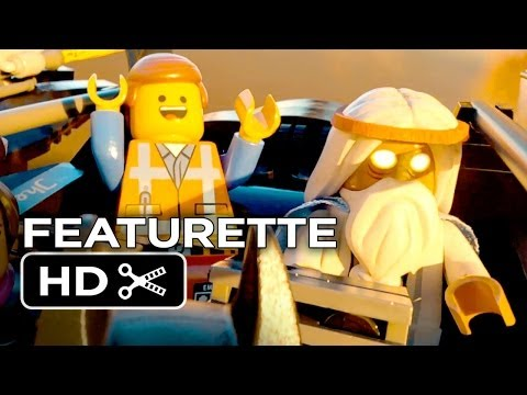 The Lego Movie Featurette - Behind the Bricks (2014) - Morgan Freeman, Chris Pratt Movie HD